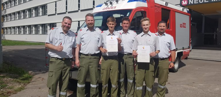 Feuerwehrgrundausbildung 2018