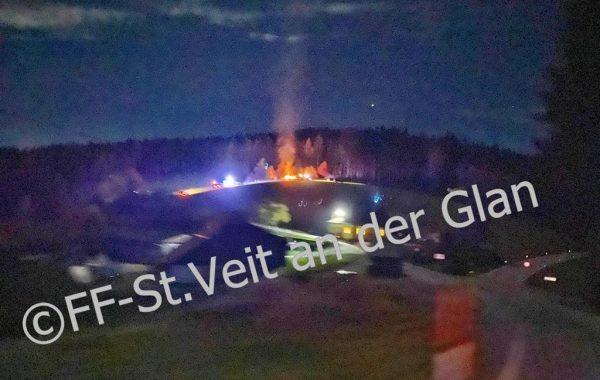 03.11.2020 Brandeinsatz